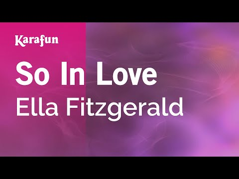 Ella Fitzgerald - So In Love