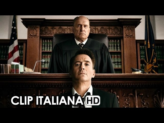 The Judge Clip Ufficiale Italiana 'Sì non è un'affermazione' (2014) - Robert Downey Jr. HD
