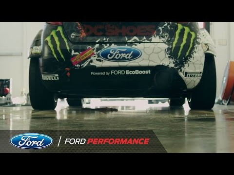 Ken Block's Fiesta H.F.H.V. Conversion from Stage Rally Spec to Rallycross Spec