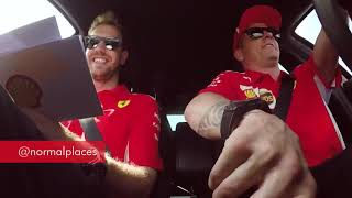 Kimi Räikkönen and Sebastian Vettel - Behind The Wheel Episode 3 😂