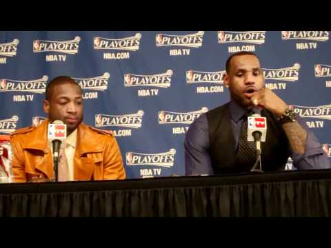 May 9 2011 LeBron James Dwyane Wade Miami Heat NBA Boston Celtics.flv