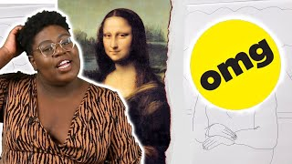 People Draw The Mona Lisa From Memory