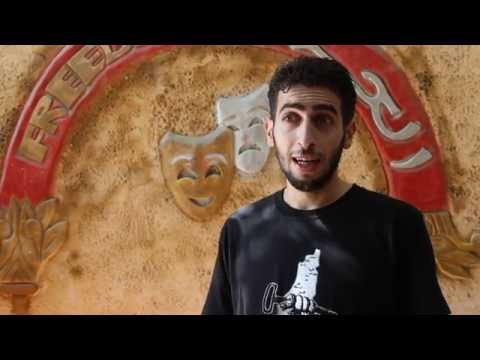 The Freedom Theatre School student Osama talks about the Freedom Jatha