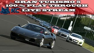 Gaming :Gran Turismo 5 100% Playthrough (36%) (PS3) 🚗 Amateur Series Race's (Live Stream🔴)