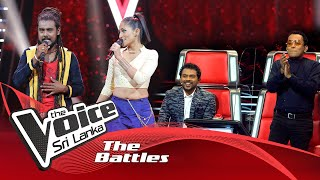 The Battles : Malith Madushanka V Eleen Samarasinghe | Mango Kalu Nande | The Voice Sri Lanka