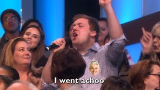 Ellen's Audience Sings 'Want to Want Me'