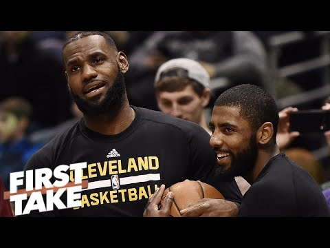 LeBron is the reason Kyrie Irving left Cleveland not the other way around - Stephen A. l First Take