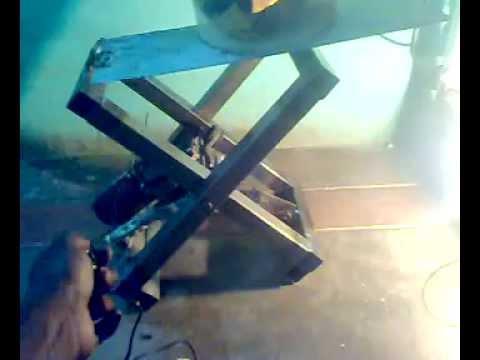 zig zag lift  mechanical mini project