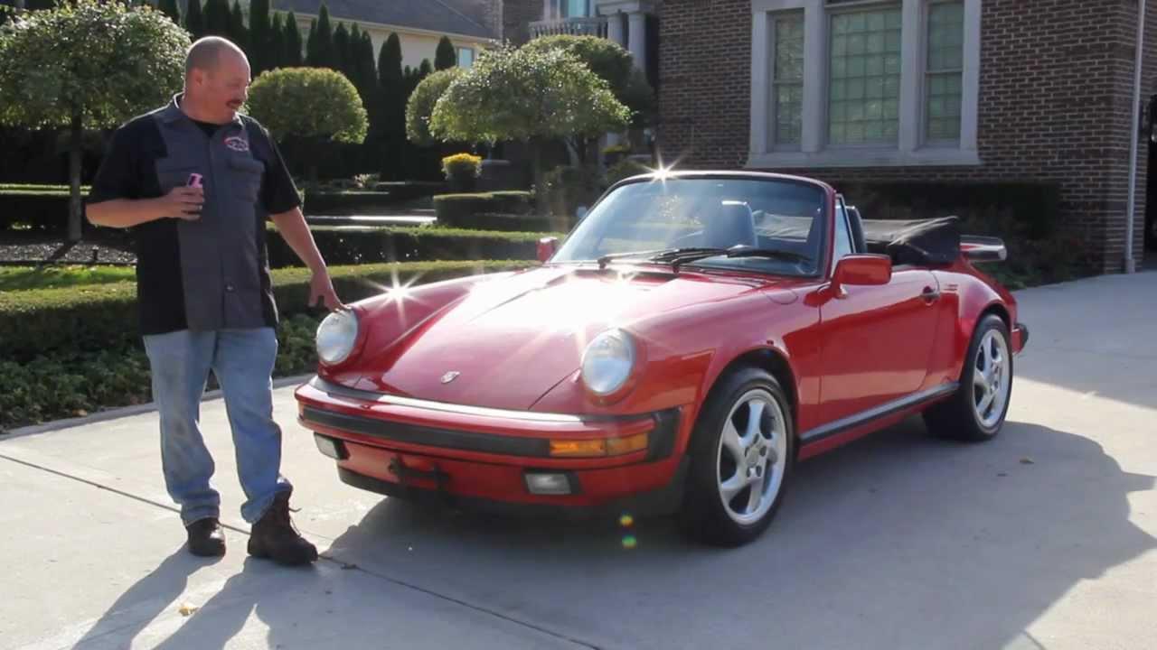 1989 Porsche 911 Carrera Classic Muscle Car For Sale In Mi