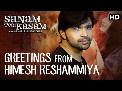 Himesh Reshamiya Has A Special Message For Team Sanam Teri Kasam
