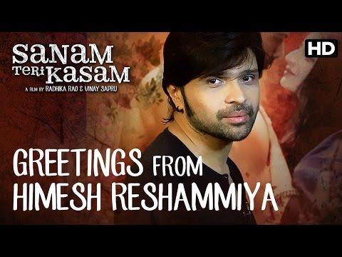 Himesh Reshamiya Has A Special Message For Team Sanam Teri Kasam