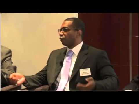 Justin Dargin at the Financial Times Energy Dialogue in Dubai
