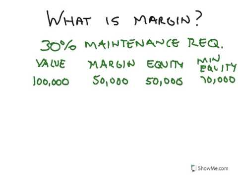 How to Personal Finance: What is Margin?