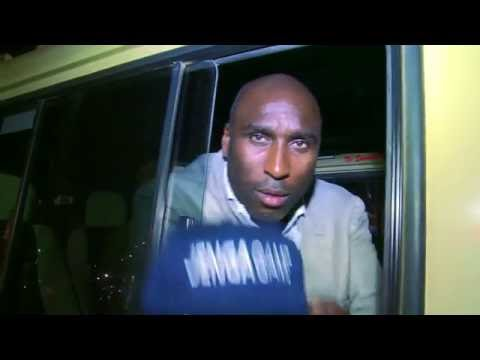 Sol Campbell Arrives For the SportPesa Arsenal Training Camp