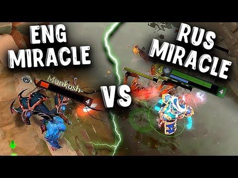РУССКИЙ МИРАКЛ vs LIQUID.MIRACLE! КТО ЛУЧШИЙ МИДЕР МИРА ДОТА 2?