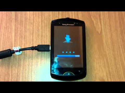 Sony Ericsson live with walkman WT19i update android 4.0.4 ICS 4.1.B.0.587 OTA