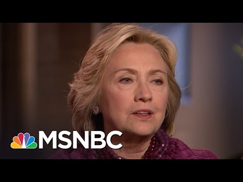 Hillary Clinton Responds To Syrian Airstrikes | MSNBC