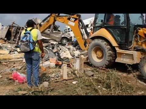 Tornado, floods leave deadly trail at Mexico-US border
