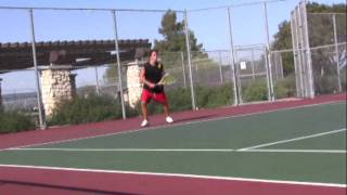 Ambidextrous Tennis Player-James Lavery