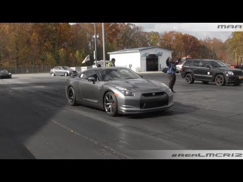 Nissan GTR R35 vs. 700HP Jeep SRT8    BMW M5 vs. 1200whp Toyota Supra