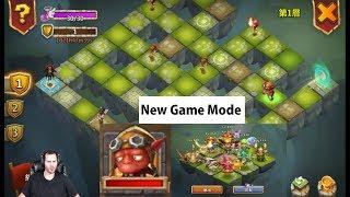 New Game Mode Labyrinth Beast Set Ups Castle Clash