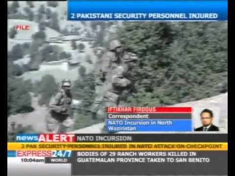 Nato helicopters strike checkpost in North Waziristan