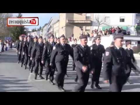 Gala dos bombeiros na Sert�