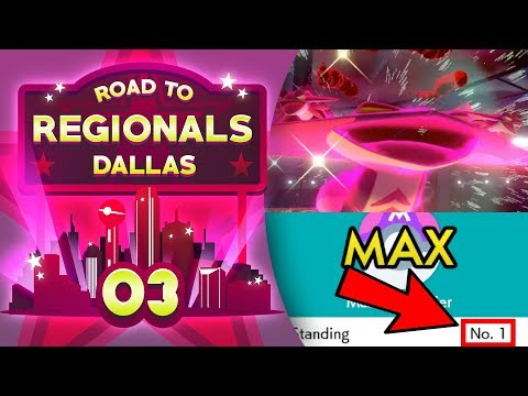 The #1 Ranked Player! Road to Regionals - Dallas! Pokemon Sword and Shield VGC