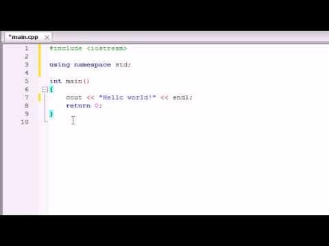 Buckys C++ Programming Tutorials   2   Understanding a Simple C++ Program