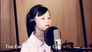 Tìm em qua câu dân ca - Như Quỳnh 11 tuổi