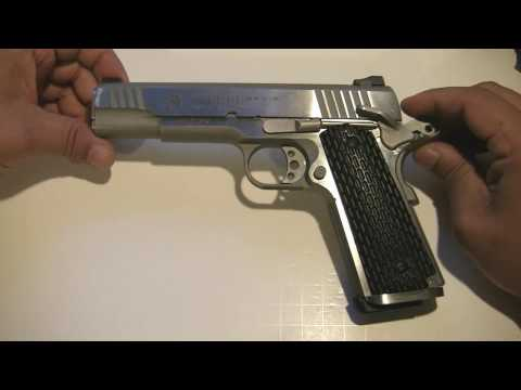 Taurus PT1911 stainless