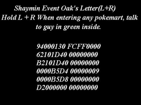 The Best Action Replay Codes For Pokemon Platinum