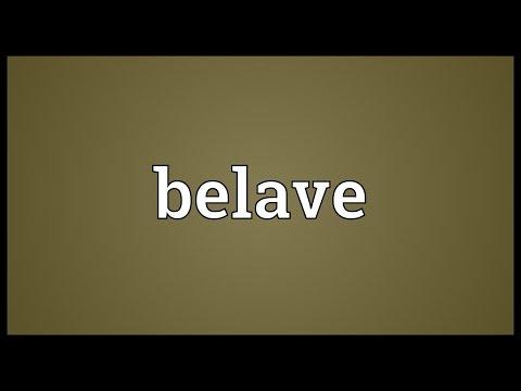Header of belave