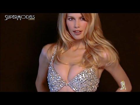 Claudia Schiffer - First Fantasy Bra + Victoria´s Secrets 1997 Fashion show by Supermodels Channel