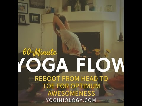 60 Minute Vinyasa Flow Yoga Class For Total Body And Mind Reboot