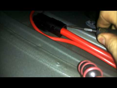 bmw 5 series e60 battery cable recall how to diy. Black Bedroom Furniture Sets. Home Design Ideas