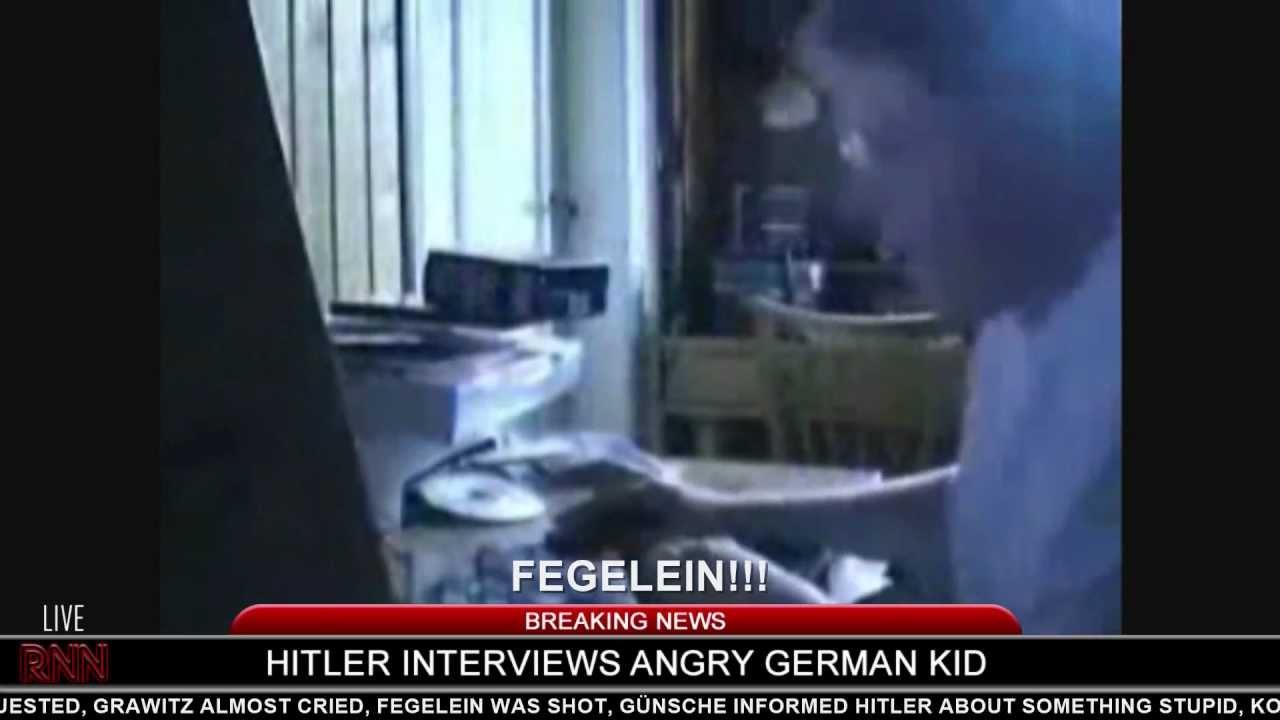 Hitler interviews Angry German Kid