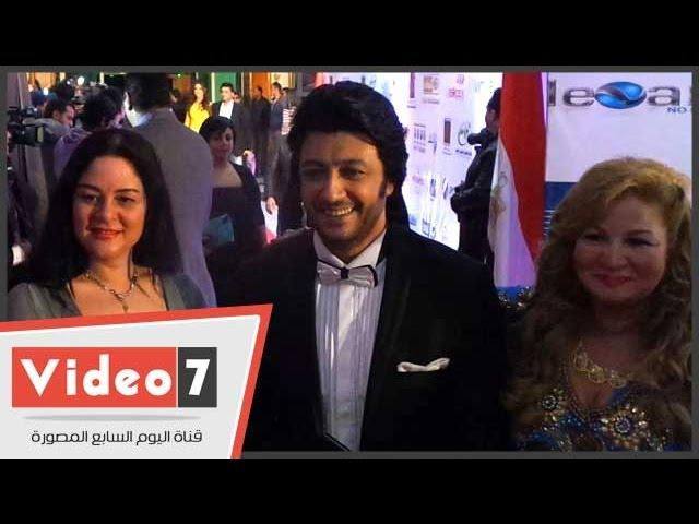 إلهام شاهين وإيناس النجار وعلا رامى فى حفل ختام مهرجان القاهرة