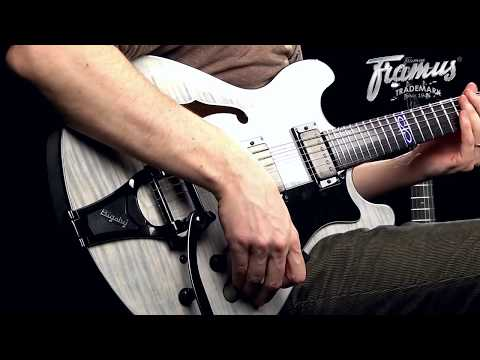 Framus / Warwick Artists: Devin Townsend on his Framus Guitar