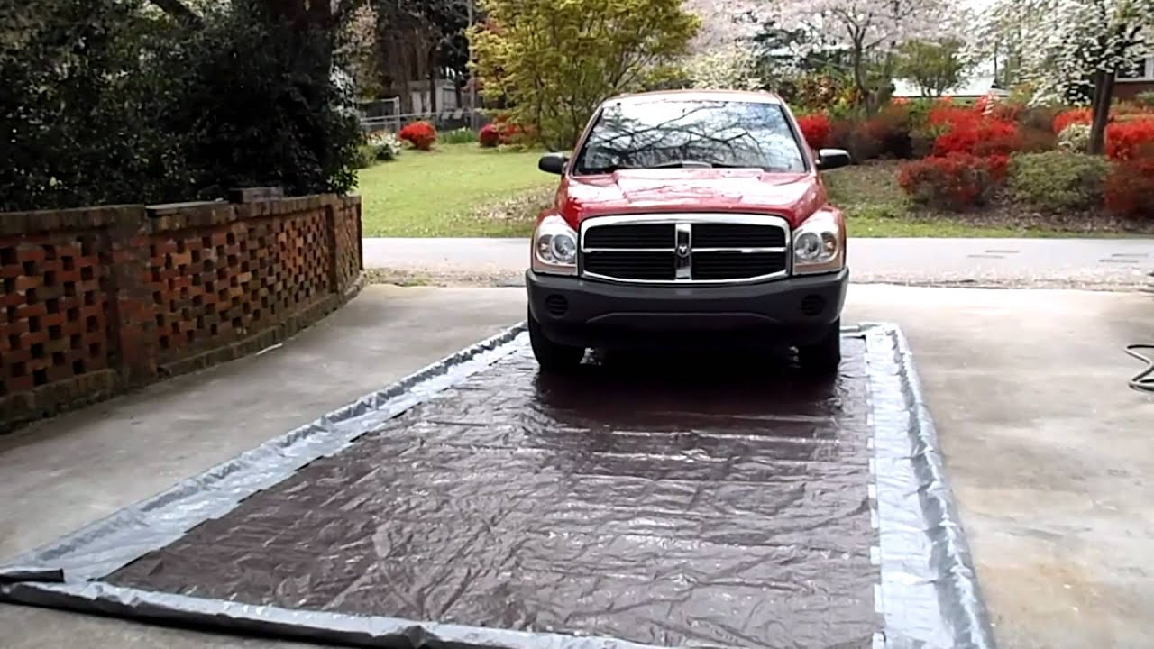 Garage Car Wash Mat