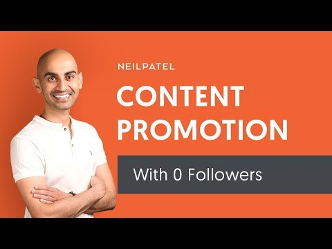 How to Promote Your Content When You Have No Followers