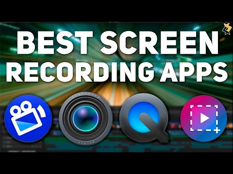 Best Screen Recording Apps for Mac for 2016 - Top 5