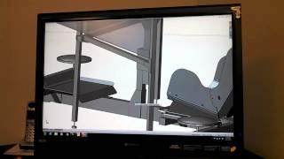 Part 2 of 5: 3x Projectors Sim-Racing Cockpit Design / Build