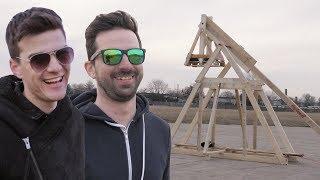 Építettünk egy óriási KATAPULTOT ! Pamkutya Kalandok #22