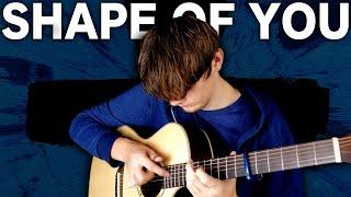 Shape of You - Ed Sheeran - Fingerstyle Guitar Cover