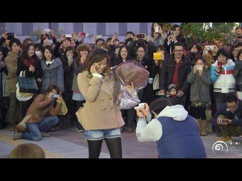 フラッシュモブ サプライズ プロポーズ Jr大阪駅 カリヨン広場 「you Belong With Me」natalie Emmons flash Mob Surprise Proposal video