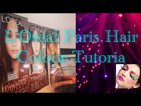 L'Oreal Paris hair color tutorial