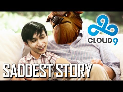 Saddest Story Of Dota 2 - Cloud9 Player