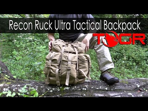 Bushcraft Pack? - Modern Day Alice Pack - Recon Ruck Ultra Tactical Backpack