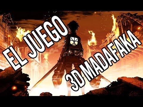 Game | SHINGEKI NO KYOJIN EL JUEGO 3D, MATANDO TITANES LIKE A BOSS Gameplay Yuchiro | SHINGEKI NO KYOJIN EL JUEGO 3D, MATANDO TITANES LIKE A BOSS Gameplay Yuchiro